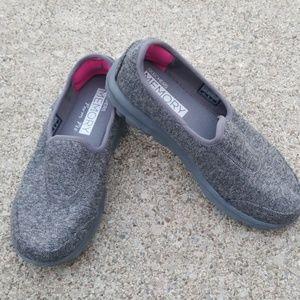 Women's SKECHERS GO Slip on memory foam sneakers